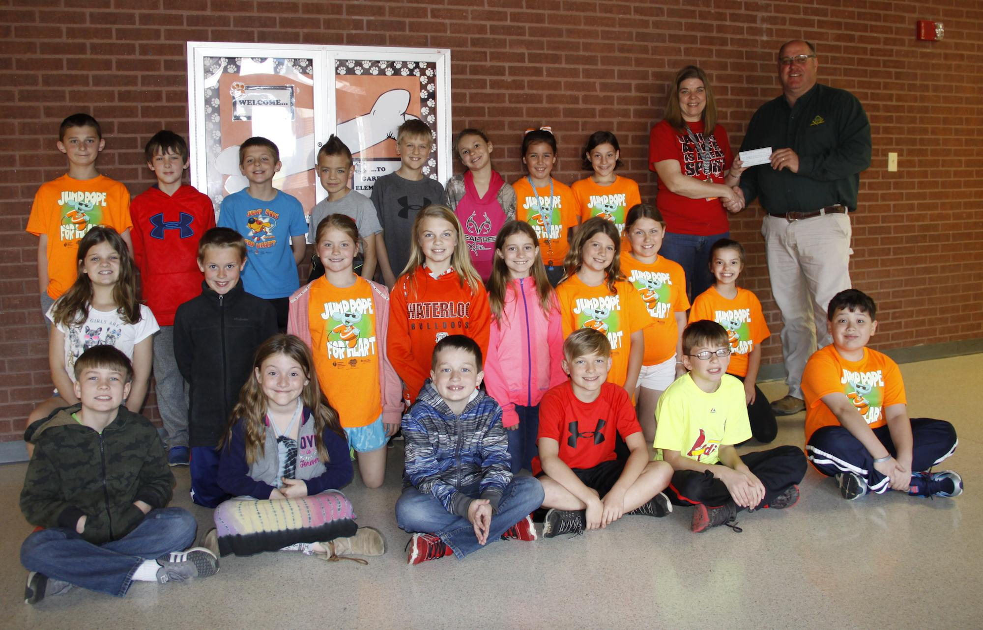 Waterloo Optimist Club Helps Send 4th Grade To State Capital